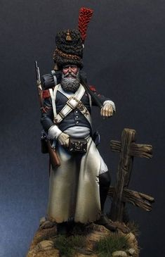 Sapper of Foot Grenadiers of the Guard