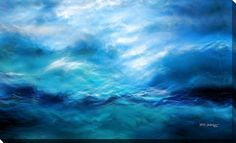 """Giclee Stretched Canvas Wall Art by Mark Lawrence """"The Raging Of The Water. Luke 8:24"""""""