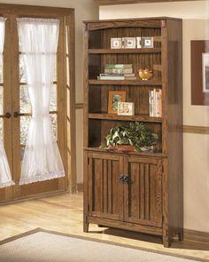 Cross Island - Large Door Bookcase