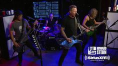 "Metallica ""Sad but True"" Live on the Howard Stern Show"