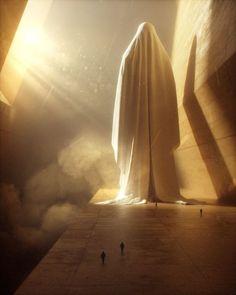 Plongez dans un monde de science-fiction avec Stuart Lippincott Dark Fantasy Art, Fantasy Artwork, Fantasy Places, Fantasy World, Animation 3d, Scary Art, Creepy, Environment Concept Art, Fantasy Inspiration