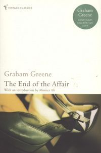 """The End of the Affair by Graham Greene. Ruth says """"Amidst war-torn London, an illicit love affair takes place. It is not a novel about hate as the narrator declares at the start. This is the story of someone who is obsessed, tormented and 100% in love."""""""