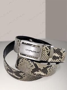 Implora Natural Python Snake Skin Belt 1.5W