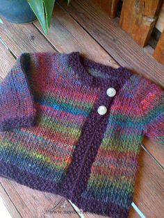 Child Knitting Patterns Noro Kurayon yarn, free sample on Ravelry Baby Knitting Patterns Supply : Noro Kurayon yarn, free pattern on Ravelry. by ceramiga Baby Knitting Patterns, Knitting For Kids, Baby Patterns, Free Knitting, Baby Cardigan Knitting Pattern Free, Baby Sweater Patterns, Knitting Projects, Knit Baby Sweaters, Knitted Baby Clothes