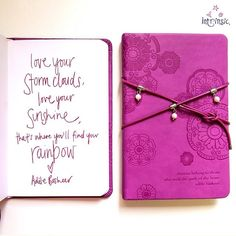 Pearl Wrap Journal in Wild Orchid
