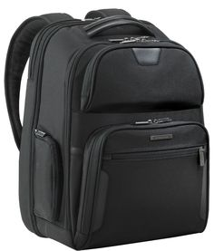 fd7f984393 Business Briggs And Riley At Work KP375C Large Clamshell Backpack Black  Briggs And Riley