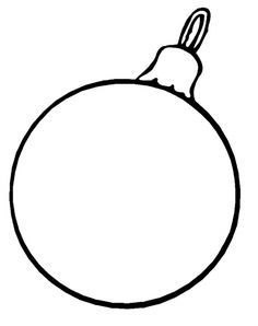 christmas ornament is great and very nice coloring page christmas