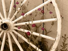 Framed Rustic Sepia Wagon Wheel Photo 8x10  USPS by BogsAndBerries, $60.00