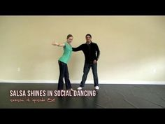 How to do Salsa Shines in Social Dancing - YouTube
