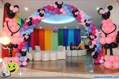 #Decoraciones #FiestasInfantiles #Globos #Minnie