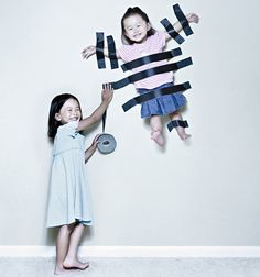 Not really a cool idea but reminded me of how my brother and sister used to babysit!