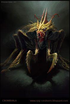Crombhala - creature concept by Cloister.deviantart.com on @deviantART
