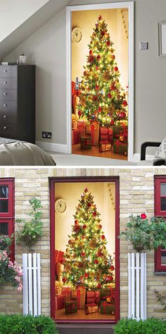 50% OFF Christmas Door Stickers,Free Shipping Worldwide.