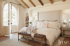 15 Ultra-Chic Headboards | LuxeWorthy - Design Insight from the Editors of Luxe Interiors + Design