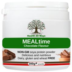 A dairy-free , gluten-free chocolate-flavoured meal replacement and protein powder that has been fortified with a wide range of beneficial vitamins, minerals, nutrients and herbs. An ideal supplement and flavour for slimmers, particularly in the early stages of a weight loss plan when cravings for chocolate can be at their worst! High in vegetable protein and complex carbohydrates, this daily shake also contains beneficial dietary fibre from psyllium husks, which promotes natural colon…