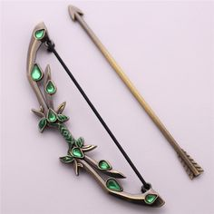 Dota 2 Metal Pendant King Butterfly Weta Bow Sword Alloy Model Keychain Bows Keyholder