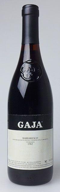 1982 Gaja Barbaresco #nebbiolo #piedmont #gaja