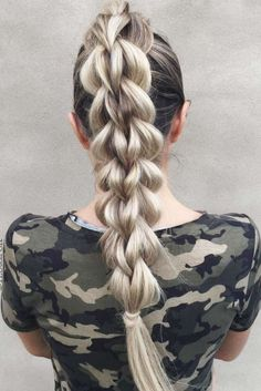 The Magic Of A Braided Ponytail Create a perfect hairdo with the help of a braided ponytail. Remember: the first impression is always the most important one! Natural Braided Hairstyles, Natural Braids, Romantic Hairstyles, Easy Hairstyles For Long Hair, Modern Hairstyles, Cute Hairstyles, Hairstyles Videos, Braid Hairstyles, Hair Styler