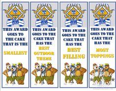 Cub Scouts Cake Award