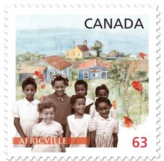 A 1958 photo of girls from an Africville bible class is featured on one of the two new stamps to celebrate February's Black History Month in Canada Canadian Culture, Canadian History, European History, Black History Month Canada, February Black History Month, Black History People, Black History Facts, Canada Day Crafts, Family History Quotes