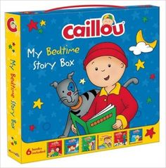 Amazon.fr - Caillou: My Bedtime Story Box: Dress-up With Daddy/ and Gilbert/ What's That Funny Noise?/ Sleeps Over/ the Circus Parade/ Goes to Work - Eric Sevigny, Nicole Nadeau, Marion Johnson, Roger Harvey, Joceline Sanschagrin - Livres