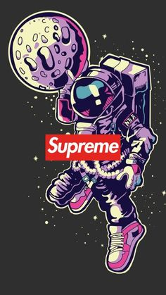 Supreme wallpaper by Jelliblu - 18 - Free on ZEDGE™ Cartoon Wallpaper, Simpson Wallpaper Iphone, Hype Wallpaper, Graffiti Wallpaper, Halloween Wallpaper Iphone, Wallpaper Space, Locked Wallpaper, Aesthetic Iphone Wallpaper, Galaxy Wallpaper