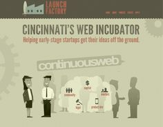 Launch Factory's home page - http://launchfactory.org/