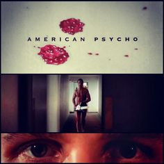 Now I know how far you'll go to be the next freak show. #AMERICANPSYCHO
