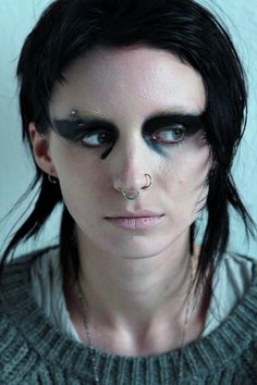 "Rooney Mara as Lisbeth Salander in ""Girl with the Dragon Tattoo"""