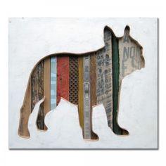 Dog Walk Collection (Mini) French Bulldog #art #dog #pet