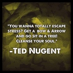 Amen Uncle Ted!! Love the Nuge! <3