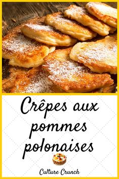 Discover recipes, home ideas, style inspiration and other ideas to try. Mini Desserts, French Desserts, Dessert Recipes, Deutsche Desserts, Sweet Breakfast, Apple Recipes, Crepes, Gluten Free Recipes, Chicken Recipes