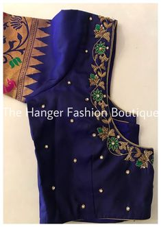 Hand Work Blouse Design, Simple Blouse Designs, Stylish Blouse Design, Fancy Blouse Designs, Saree Blouse Designs, Maggam Work Designs, Designer Blouse Patterns, Maggam Works, Traditional Fashion