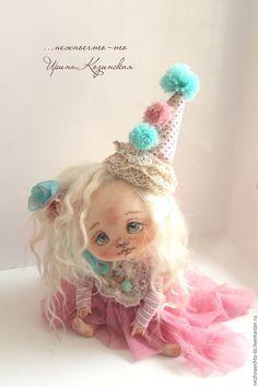 Купить День рожденья-грустный праздник - девочка в день рождения, ирина козинская, нежноечто-то