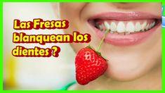 Truco Casero Con Fresas Para Blanquear Tus Dientes Naturalmente