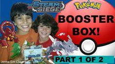 #VIDEO: Best Pokemon XY Steam Siege Booster Box Opening Part 1 of 2! Jenna Em Channel  WATCH: https://youtu.be/OeUrPDNmk3s