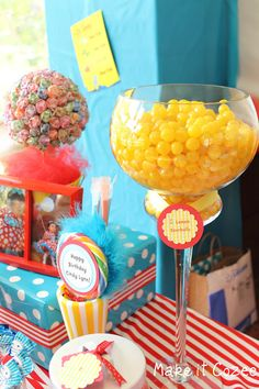 Make it Cozee: Dr. Suess Birthday Party Part 1