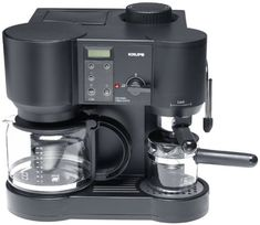 Krups 867-42 Il Caffe Bistro 10-Cup Coffee/4-Cup Espresso Maker ** Check out this great product.