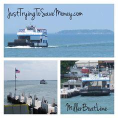 Miller Boatline Ferry- Sandusky Ohio Lake Erie