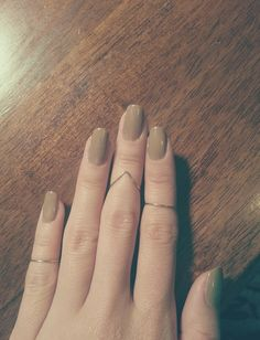 Love the nails and rings