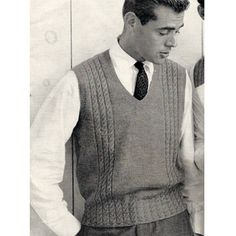 Sweater Vest Without Tie 64