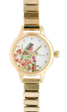 Pretty Spring blossom watch just don't particularly like those kinds of bands.