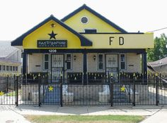 Fats' Domino!  he lives in the 9th ward and opens his garage on Sunday's to provide music..........visited here