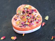DIY Rose Petal Handmade Soap