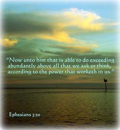 Ephesians 3:20 KJV