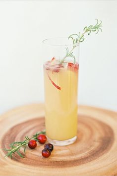 All The Champagne Cocktails You'll Ever Need #refinery29  http://www.refinery29.com/champagne-cocktails-recipes#slide-5  Sparking Ginger, Pear, And Cranberry CocktailIngredients like hearty rosemary, cranberries, and anjou pears prove that seasonal drinking can be fun, even in the depths of winter....