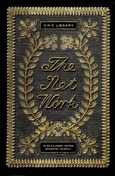 """""""The Net Work"""" Embroidery On Net (Late - Online Vintage Instruction Book Tambour Embroidery, Cross Stitch Embroidery, Embroidery Patterns, Embroidery Books, Needle Lace, Bobbin Lace, Vintage Crafts, Vintage Books, Vintage Crochet"""