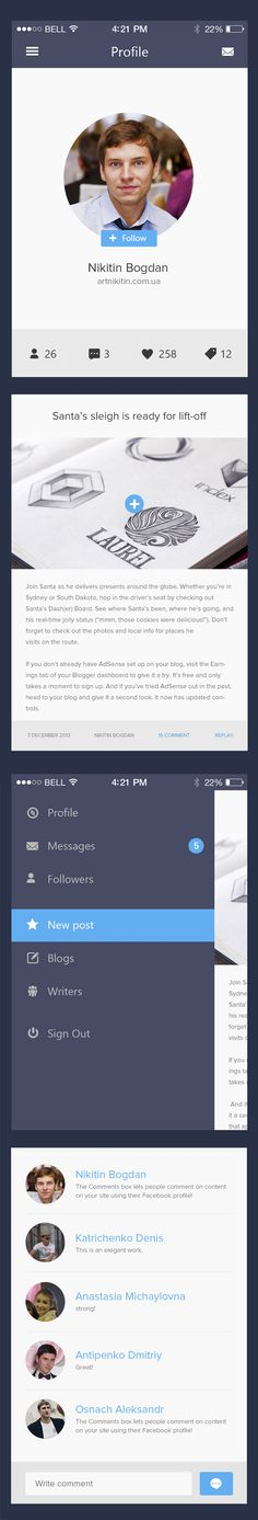 Amazing Mobile App UI Designs with Ultimate UX   Inspiration   Graphic Design Junction