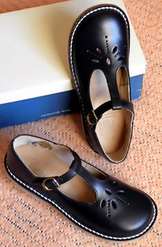 Vintage Startrite T-bar children's shoes - Google Search and Wikipedia.