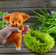 Crochet Pattern of the Little fox Crochet Bear Patterns, Knitting Patterns, Fox Toys, Little Fox, Fox Pattern, Stuffed Toys Patterns, Crochet Hooks, Handmade, Etsy